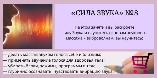сила звука